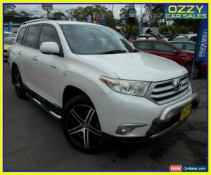 Classic 2010 Toyota Kluger GSU40R Grande (FWD) White Automatic 5sp A Wagon for Sale