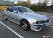 2001 BMW 525 I SPORT AUTO SILVER **GEARBOX FAULT** for Sale