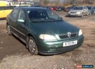 1999 VAUXHALL ASTRA LS 8V GREEN for Sale