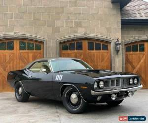 Classic 1971 Plymouth Barracuda 1 OF 1 CUDA ROTISSERIE for Sale
