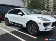 Porsche: 2016 Macan S, PANOROOF-BOSE-Red Int-18Way Seats S for Sale