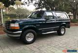 Classic 1995 Ford Bronco for Sale
