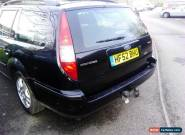 2003 FORD MONDEO GHIA TDCI BLACK for Sale