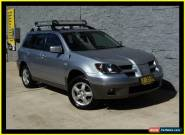 2003 Mitsubishi Outlander ZE XLS Silver Automatic 4sp A Wagon for Sale