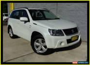 2010 Suzuki Grand Vitara JT MY08 Upgrade (4x4) White Manual 5sp M Wagon for Sale