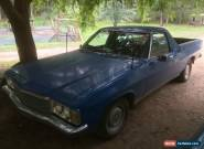 2 cars HJ Holden Kingswood Utility rego and VT commodore not V8 GTS Chev Ford for Sale