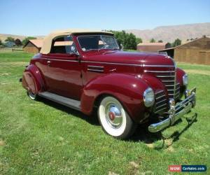 Classic 1939 Plymouth P8 Convertible for Sale