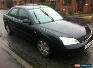 2003 FORD MONDEO LX TDCI BLACK for Sale