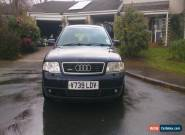 1999 AUDI A6 2.5 TDI QUATTRO BLUE Avant (Estate) 6 speed gearbox S Line 4wd 4x4 for Sale