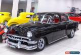 Classic 1954 Chevrolet Bel-Air Black Automatic A Sedan for Sale