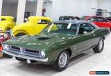 Classic 1969 Plymouth Cuda Green Automatic A Coupe for Sale
