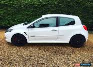 2009 RENAULT CLIO 197 SPORT 2.0vvt WHITE for Sale