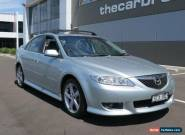 2003 Mazda 6 GG Luxury Sports Silver Manual 5sp M Hatchback for Sale