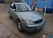 Ford mondeo 2.0 petrol manual spares repairs for Sale