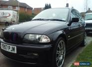 2001 BMW 320I SE BLACK for Sale