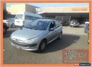 2001 Peugeot 206 XT Silver Automatic 4sp A Hatchback for Sale