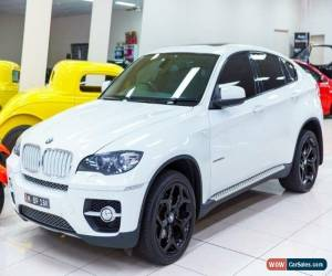 Classic 2009 BMW X6 E71 xDrive 35D White Automatic 6sp A Coupe for Sale