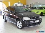 2003 Holden Astra TS MY03 CD Black Automatic 4sp A Sedan for Sale