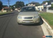 FORD TERRITORY 2005 GHIA (4X4) GOLD 7 SEATS IN IMMACULATE CONDITION for Sale