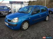 2003 RENAULT CLIO EXPRESSION 16V BLUE for Sale