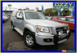 Classic 2010 Mazda BT-50 09 Upgrade Boss B3000 SDX (4x4) Silver Automatic 5sp A for Sale