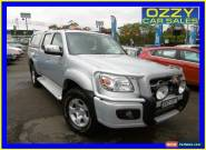 2010 Mazda BT-50 09 Upgrade Boss B3000 SDX (4x4) Silver Automatic 5sp A for Sale