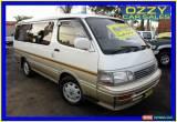 Classic 1995 Toyota Hiace KZH100G Super Custom White Automatic 4sp A Van for Sale