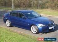 2007 57 BMW 320I M Sport Auto - New MOT - Le Mans Blue With Black Leather for Sale