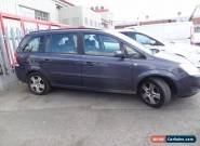 2009 VAUXHALL ZAFIRA EXCLUSIVE CDTI AUTO 49k MOT SPARES REPAIRS for Sale