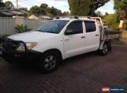 TOYOTA HILUX 2006 SR DUAL CAB (2WD) V6 4.0 Manual - SYDNEY - BAULKHAM HILLS for Sale