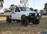 Holden Rodeo 4x4 solid axle front end (sas) turbo diesel space cab for Sale