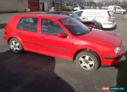 VW Golf mk4 1.6 Petrol for Sale
