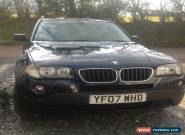 2007 BMW X3 SE BLUE 2.0L FULL BLACK LEATHER. BLUETOOTH  FSH  MANUAL for Sale