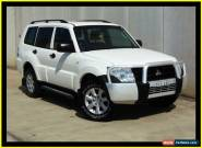 2011 Mitsubishi Pajero NT MY11 GLX LWB (4x4) White Automatic 5sp A Wagon for Sale