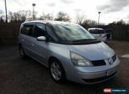 2006 RENAULT ESPACE RUSH 1.9 DCI SILVER for Sale