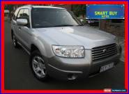 2007 Subaru Forester X Columbia Silver Automatic 4sp A Wagon for Sale