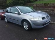 NEW MOT 2003 RENAULT MEGANE DYNAMIQUE 16V BEIGE for Sale