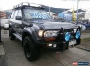 1991 Toyota Landcruiser Sahara (4x4) Automatic 4sp A Wagon for Sale