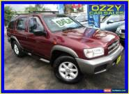 2001 Nissan Pathfinder ST (4x4) Burgundy Automatic 4sp A Wagon for Sale