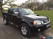 2003 Nissan Navara D22 Outlaw 2.5 Diesel Double Cab Pick Up 4WD *ONLY 85K MILES* for Sale
