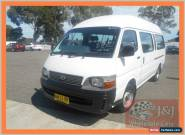 2003 Toyota Hiace RZH125R Commuter White Automatic 4sp A Bus for Sale