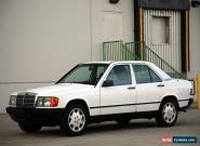 1985 Mercedes-Benz 190-Series 2.5 Diesel for Sale