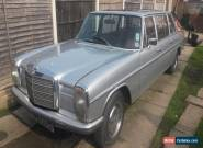 Mercedes Limousine 1970 4 Door Diesel Automatic Classic Limo  for Sale