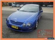 2001 Ford Falcon Auii XR6 Blue Automatic 4sp A Sedan for Sale