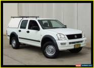 2003 Holden Rodeo RA LX White Automatic 4sp A Crewcab for Sale