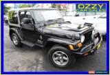 Classic 2006 Jeep Wrangler TJ Sport (4x4) Black Automatic 4sp A Hardtop for Sale