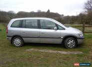 VAUXHALL ZAFIRA  DTi DESIGN 2005 SILVER MOT Aug '16 171k new clutch/gearbox for Sale