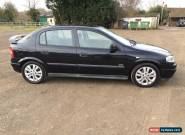 2002 VAUXHALL ASTRA SRI 16V BLACK for Sale