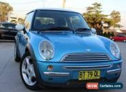 2004 Mini Cooper R50 Blue Automatic 6sp A Hatchback for Sale