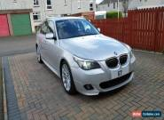 2007 57 LCI BMW 525D 3.0d M SPORT AUTO SILVER IMMACULATE THROUGHOUT for Sale